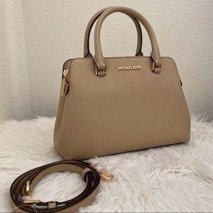 New Michael Kors IDINA satchel